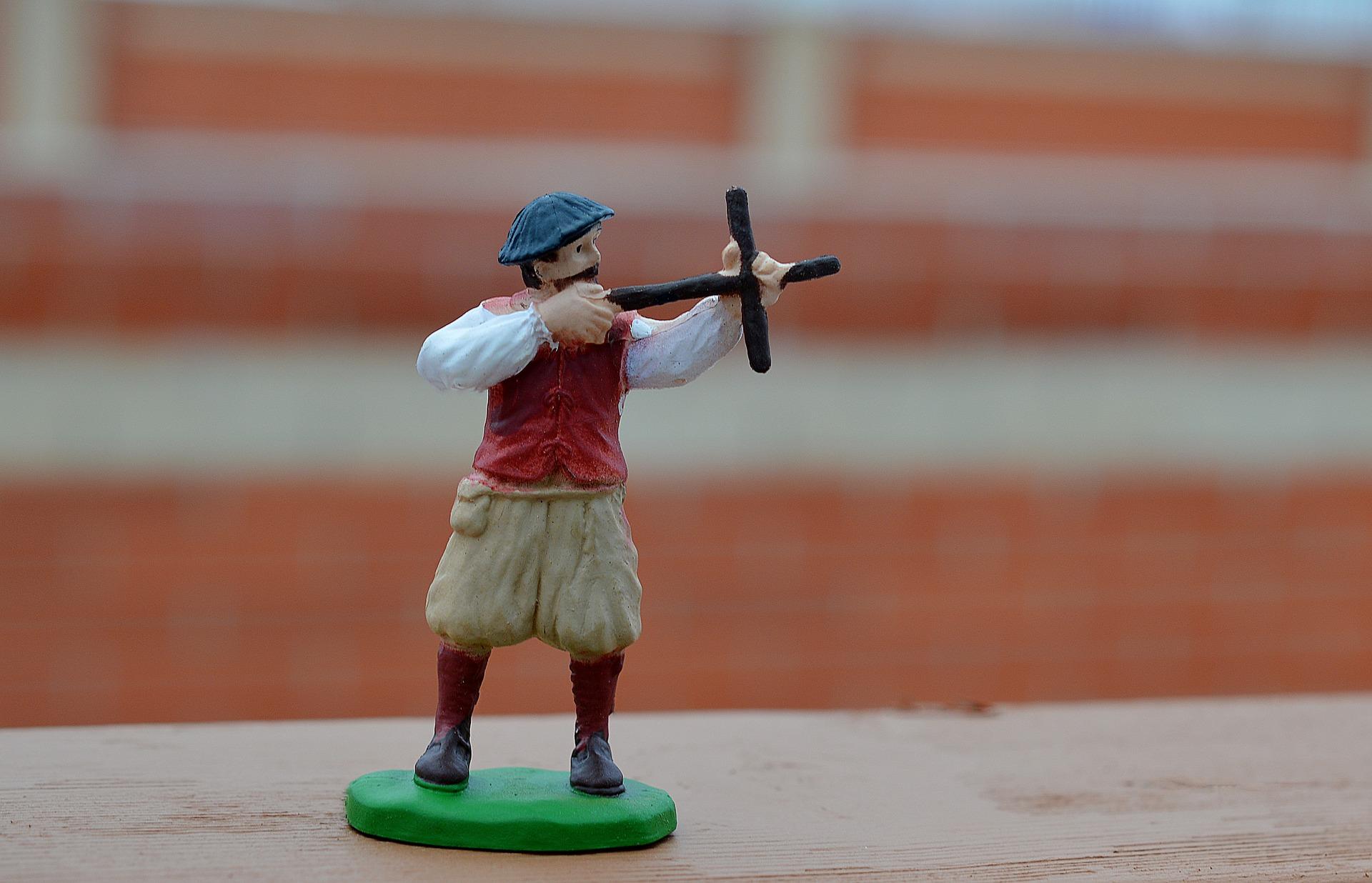 colonist figurine